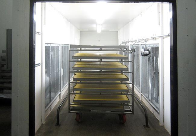 refrigeration cooler at Walnut Creek cheese